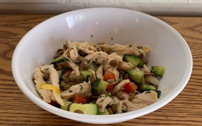 What's Cookin' in Sun Valley?Episode Nine: Lentil Salad with Chicken & Vegetables