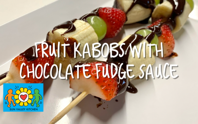 What's Cookin' in Sun Valley?2021 Episode Eight: Fruit Kabob with Chocolate Fudge Sauce